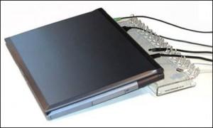 suport cabluri laptop