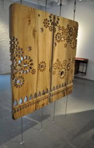 draperii lemn CNC