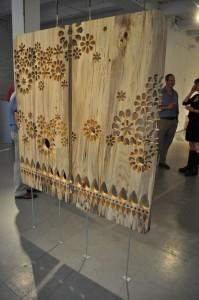 draperie lemn CNC