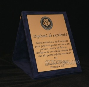 diploma promotie Negruzzi