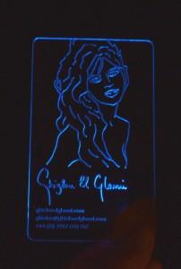 blue_albastru LED