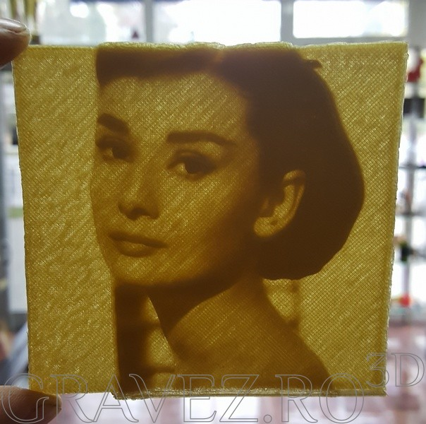 3Dprint lithophanes